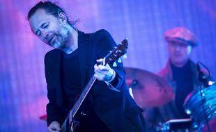 Le chanteur de Radiohead Thom Yorke