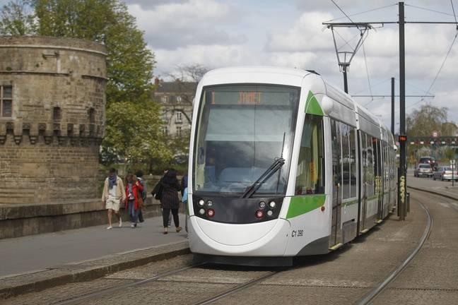 Un tramway de la ligne 1.