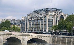 Le magasin de la Samaritaine, face au Pont Neuf à Paris (1er), le 15 octobre 2008.