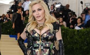 Madonna sur le tapis rouge du Met Gala.