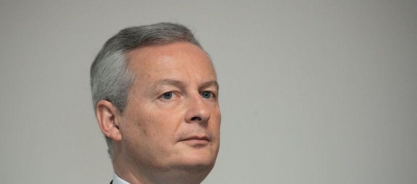 Bruno Le Maire, ministre de l'Economie, le 8 janvier 2019 à Paris.