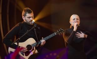 Jean-Karl Lucas et Emilie Satt forment le duo Madame Monsieur.
