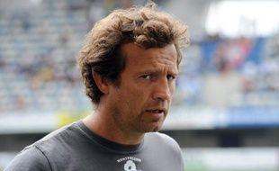 """L'entraîneur de Montpellier Fabien Galthié a critiqué mercredi la Ligue nationale de rugby (LNR) à la suite de la programmation du match Lyon-Montpellier le 30 novembre, soulignant que ses joueurs allaient être contraints de """"jouer trois matches en huit jours""""."""