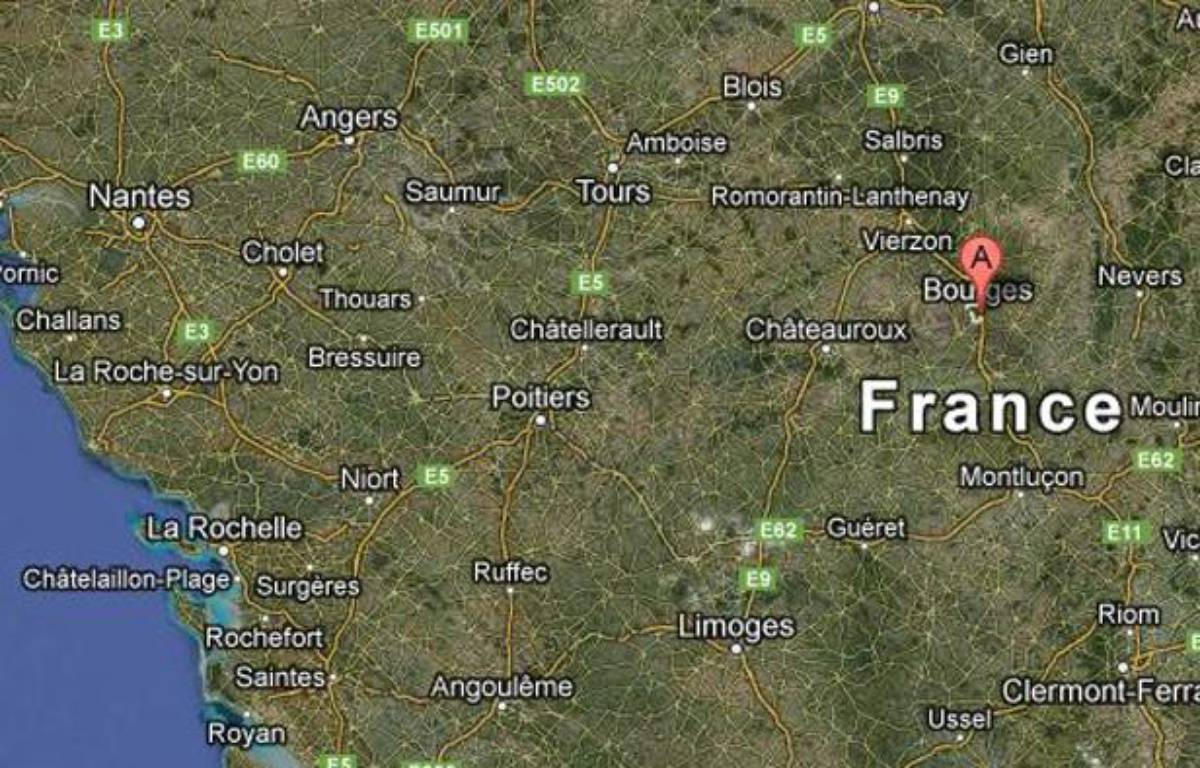 Google map de la ville de Levet (Cher). – 20 MINUTES