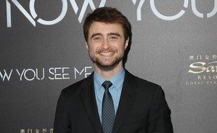 L'acteur Daniel Radcliffe