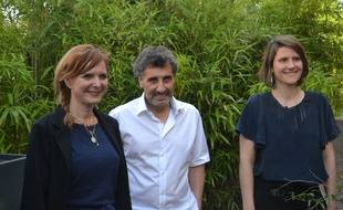Clothilde Ollier, Mohed Altrad et Alenka Doulain