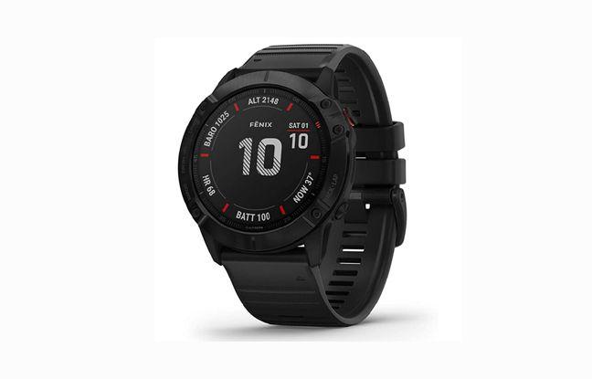 Bénéficiez de 200€ de réduction sur la montre GPS Garmin Fenix 6X Pro