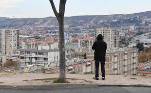 Les quartiers Nord de Marseille, où de nombreux mineurs sont embrigadés dans le trafic de stupéfiant.