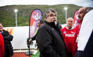 Jérôme Ducros, le président de la SASP Luzenac Ariège Pyrénées.