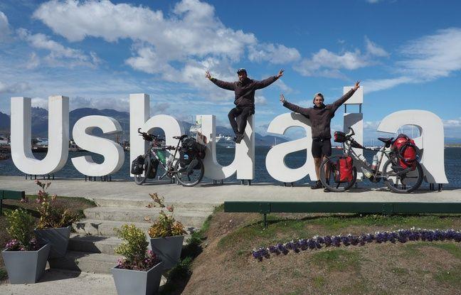 Vincent et Jérémy Dravet sont arrivés à Ushuaia samedi.