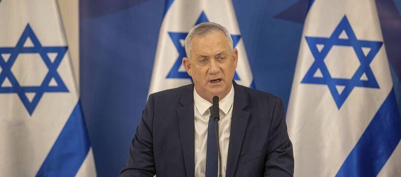 Le ministre israélien de la Défense Benny Gantz, à Tel Aviv le 27 juillet 2021 (illustration).