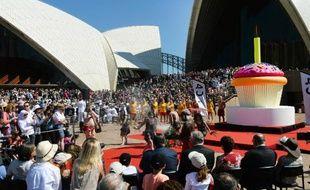 Le célèbre opéra de Sydney, oeuvre de l'architecte danois Joern Utzon classée au patrimoine mondial de l'Unesco, a fêté dimanche son 40ème anniversaire.