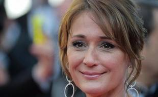 L'animatrice et productrice Daniela Lumbroso au 67e Festival de Cannes, le 15 mai 2014