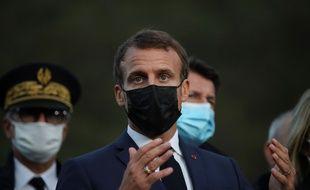 Emmanuel Macron prendra la parole mercredi 14 octobre à 20H sur TF1 et France 2 pour parler de la pandémie de Covid-19.