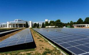 Une ferme solaire de plus de 7.000 m2 équipera le siège rénové de Bouygues Constructions
