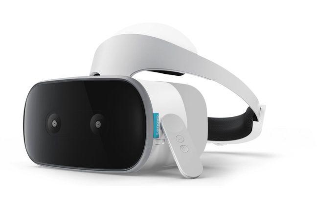 Le casque VR autonome Mirage Solo de Lenovo coupe les fils.