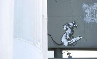 L'oeuvre de Banksy dérobée en septembre 2019 à Paris