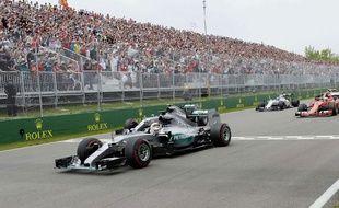 Lewis Hamilton s'est imposé au Canada le 7 juin 2015.