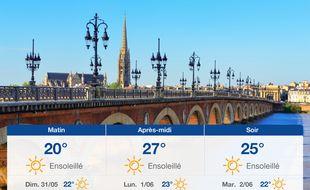 Météo Bordeaux: Prévisions du samedi 30 mai 2020