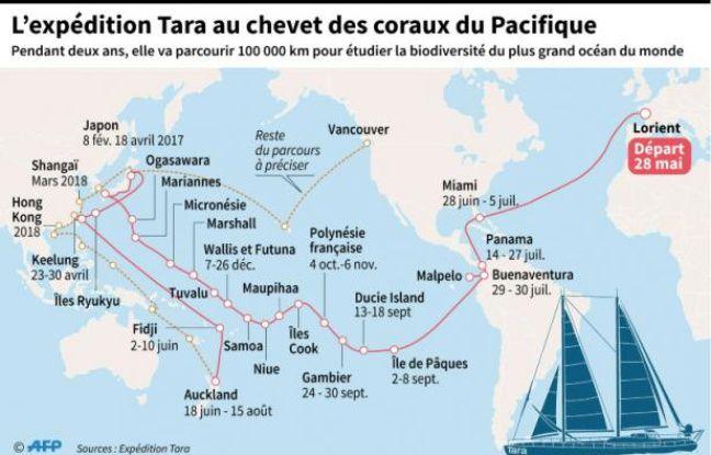 L'expédition Tara au chevet des coraux du Pacifique