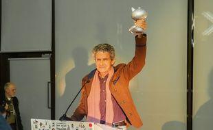 Cosey reçoit le Grand Prix à Angoulême le 25 janvier 2017