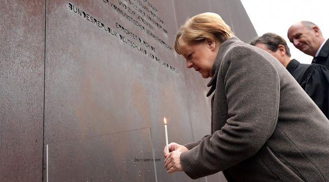 A Berlin, Merkel appelle à défendre la « liberté » et la « démocratie »