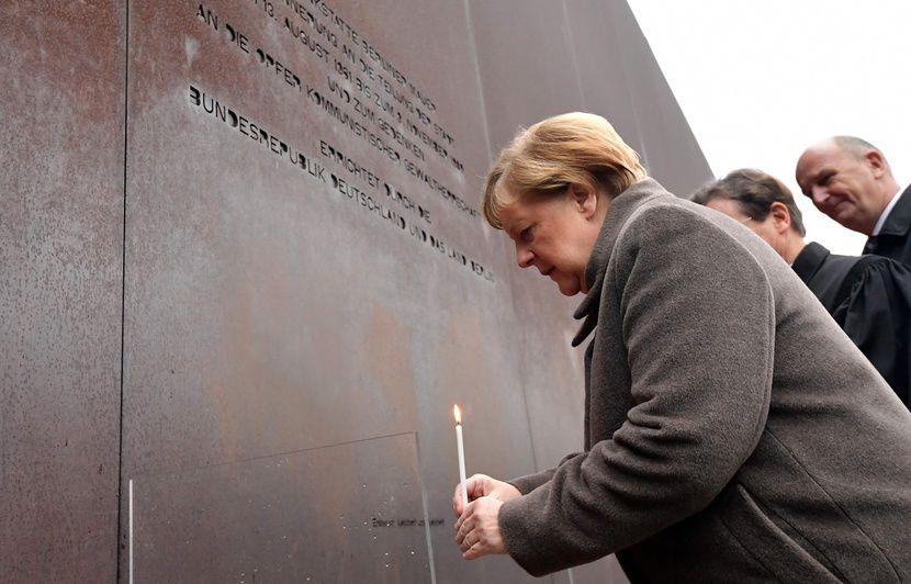 Chute du mur de Berlin : Angela Merkel appelle à préserver la « liberté » et la « démocratie » en Europe