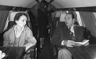 Laurence et Jacques Chirac, le 26 avril 1981.