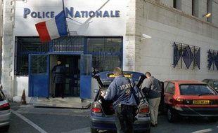 Commissariat du 3eme arrondissement, siege de la BAC Marseille-Nord.