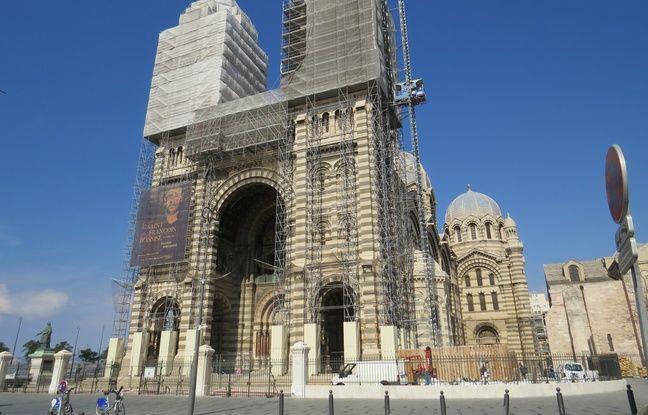 La cathédrale de la Major à Marseille fait partie des églises partenaires de Wilum.