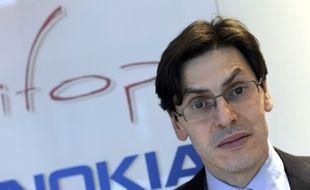 Paris, le 15 février 2012. Frédéric Dabi, directeur adjoint de l'institut Ifop.