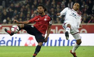 Loic Rémy a ouvert la marque pour le Losc, lui qui n'avait pas marqué en L1 depuis un sacré bail.