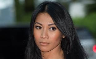 La chanteuse Anggun au World Music Awards, à Monaco, en mai 2014.