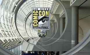 Le logo du Comic Con de San Diego aux Etats-Unis en 2014.