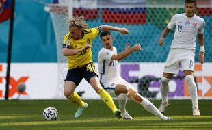 Emil Forsberg a ouvert le score pour la Suède.