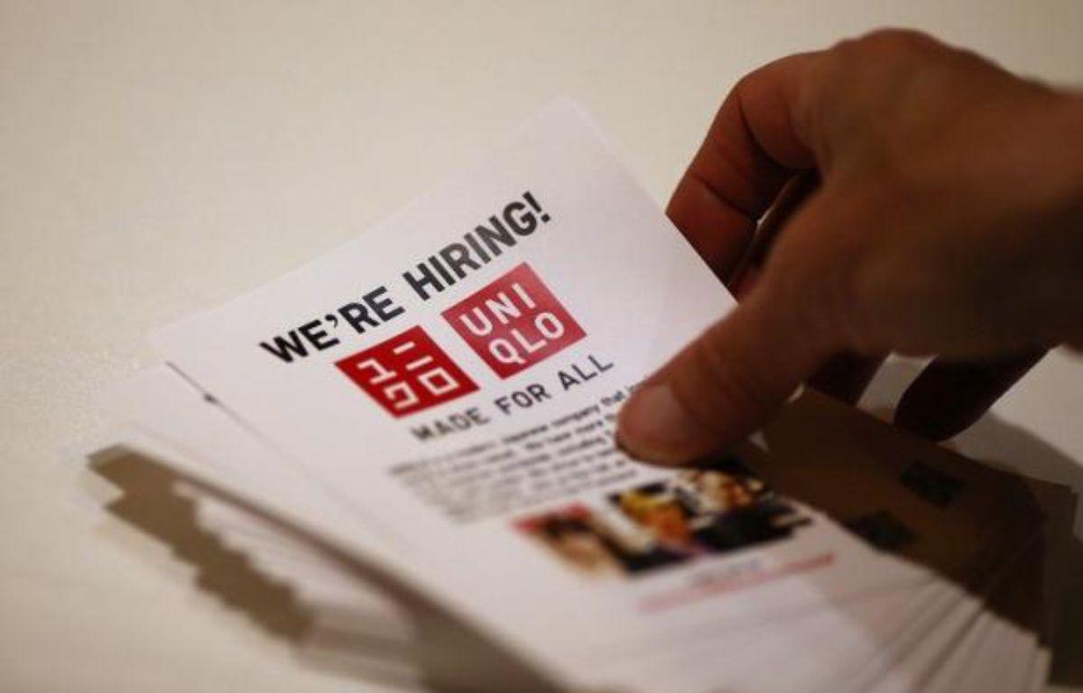 Les embauches aux Etats-Unis se sont accélérées à un rythme beaucoup plus soutenu que prévu en juillet, sans toutefois empêcher une légère hausse du taux de chômage, qui s'établit à 8,3%, selon des chiffres publiés vendredi à Washington par le département du Travail. – Justin Sullivan afp.com