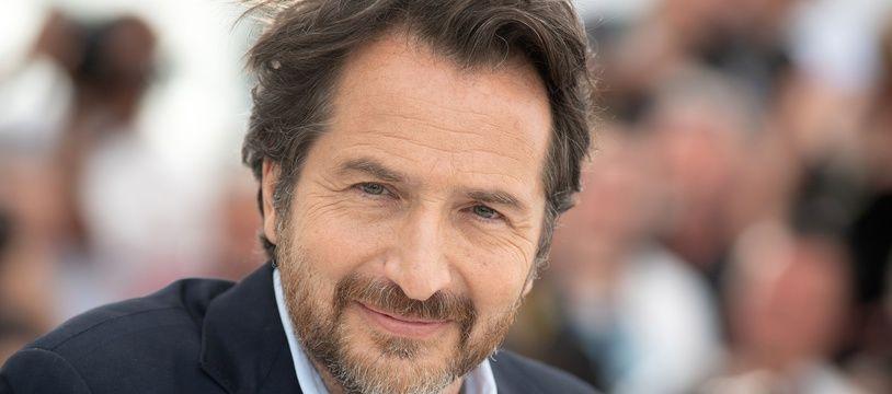 Edouard Baer, comédien, au Festival de Cannes le 8 mai 2018