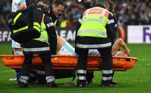 Florian Thauvin est sorti blessé.