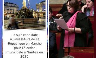 La députée Sophie Errante a annoncé sa candidature à l'investiture LREM à la mairie de Nantes en publiant une photo de Montpellier.