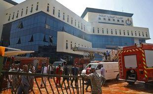 C'est le siège de la NOC qui était visé à Tripoli.