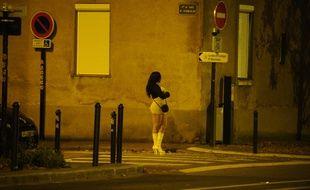 Une prostituée à Nantes. Illustration