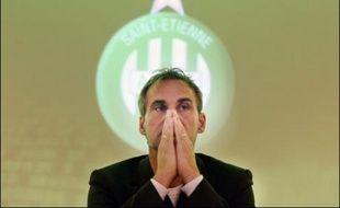 Laurent Roussey a été nommé entraîneur de l'AS Saint-Etienne (L1), en remplacement du Tchèque Ivan Hasek, dont il était l'adjoint la saison dernière, a annoncé vendredi l'ASSE lors d'une conférence de presse.
