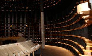 La cave de la Cité du Vin sera située au rez-de-chaussée