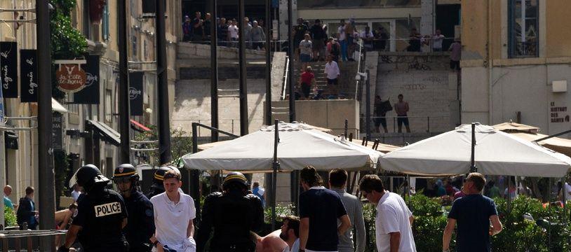 Des échauffourées entre supporters avaient éclaté à Marseille durant l'Euro 2016