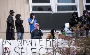 Blocage de l'université de Nanterre, le 9 avril 2018. (Illustration)