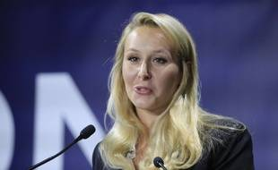 Marion Maréchal à la Convention de la droite à Paris, le 28 septembre 2019.