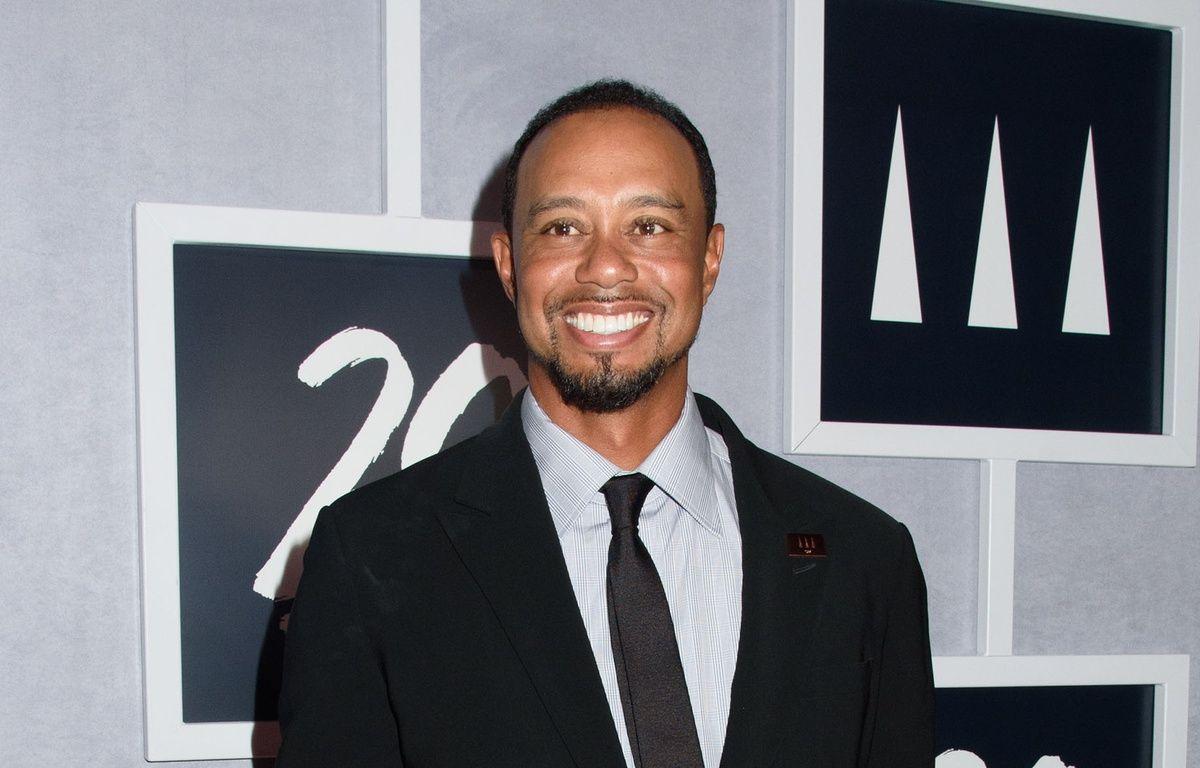 Le golfeur Tiger Woods au 20ème anniversaire de sa fondation.  – WENN