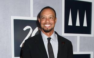 Le golfeur Tiger Woods au 20ème anniversaire de sa fondation.