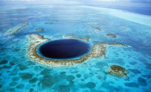 Le Grand Trou Bleu, au Belize