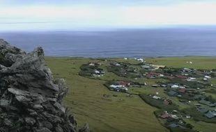 L'île Tristan da Cunha.